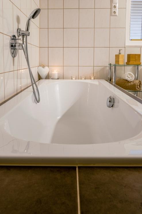 Badewanne zum Wohlfühlen