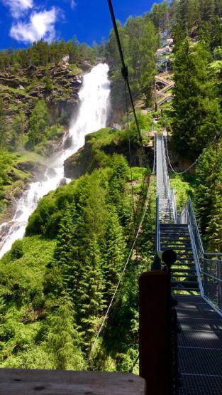 Hängebrücke Stuibenfall